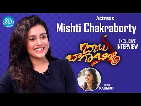 Actress Mishti Chakraborty Exclusive Interview || #BabuBagaBusy || Talking Movies With iDream #379