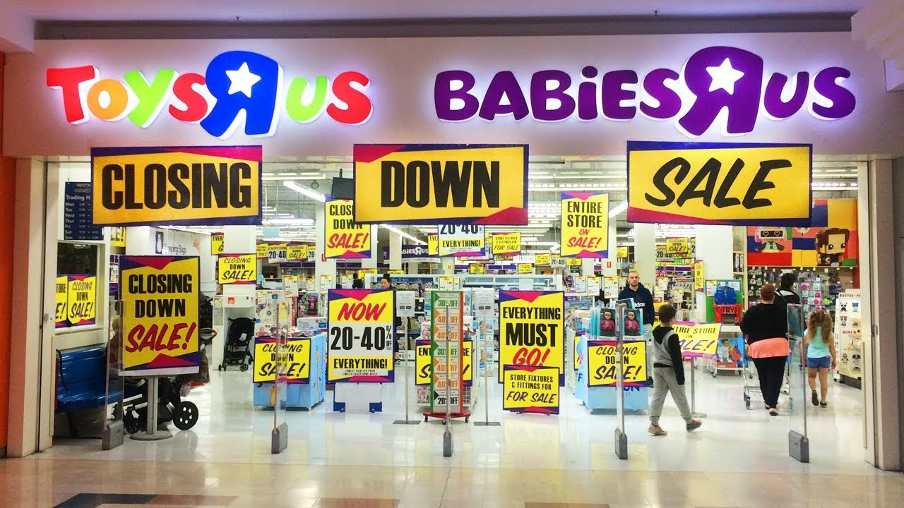 Toys R Us Australia Is Closing Closing Down Sale In Store