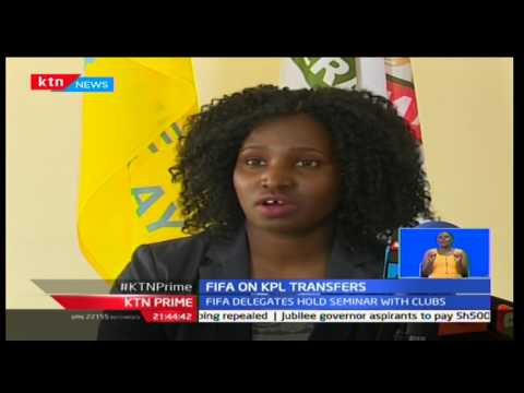 FIFA sends strong delegation to Kenya to hold seminars on transfers in the top tier league