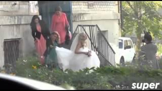 Вышедшая из тюрьмы звезда «Дома 2» Анастасия Дашко сыграла свадьбу с кикбоксером