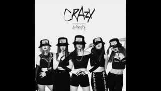 4Minute - Crazy (Instrumental with BG Vocals)