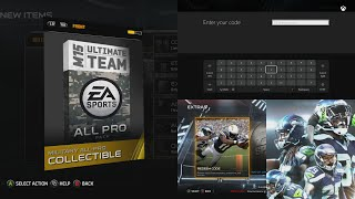 Madden 15 Ultimate Team How to get a FREE PACK! Madden 15 Pack Opening