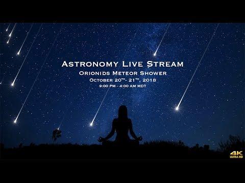 Orionids Meteor Shower-  October 20-21 - 4k
