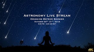 Orionids Meteor Shower-  October 20-21 - 4k