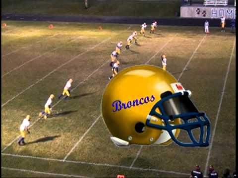 San Juan Broncos 2009 Highlight Film part 3