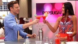 Sweet And Spicy Watermelon Jalapeño Margarita | Happiest Hour