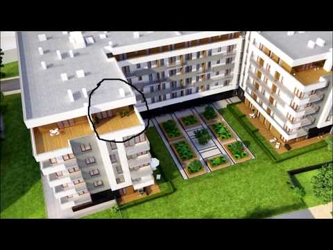 penthouse luxury apartament for rent in Krakow - modern apartament