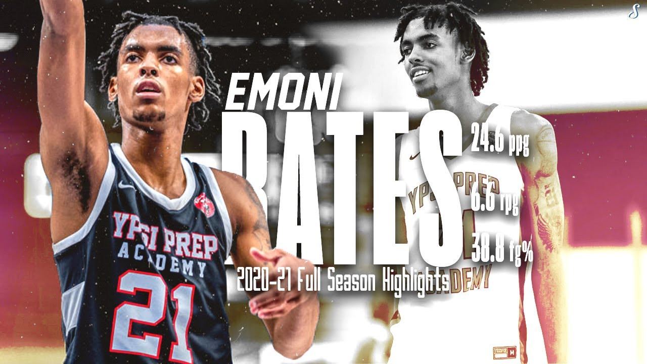 Download #1 Player In Class Of 2022 Emoni Bates Is A Beast🔥 | 24.6 PPG 6.6 RPG 38.8 FG%