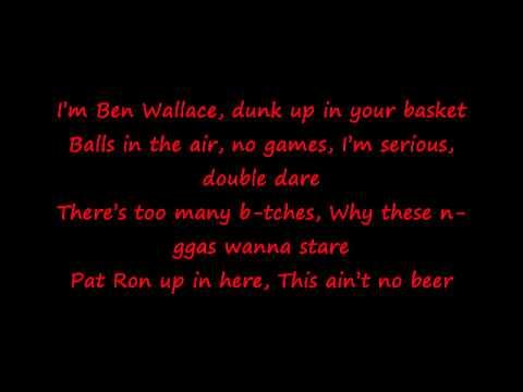 Tyga  - Faded with lyrics on screen