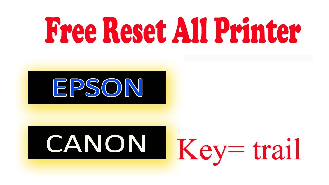 Free reset l380 l220 l405 l1310,l3150 Download by Printer Technology