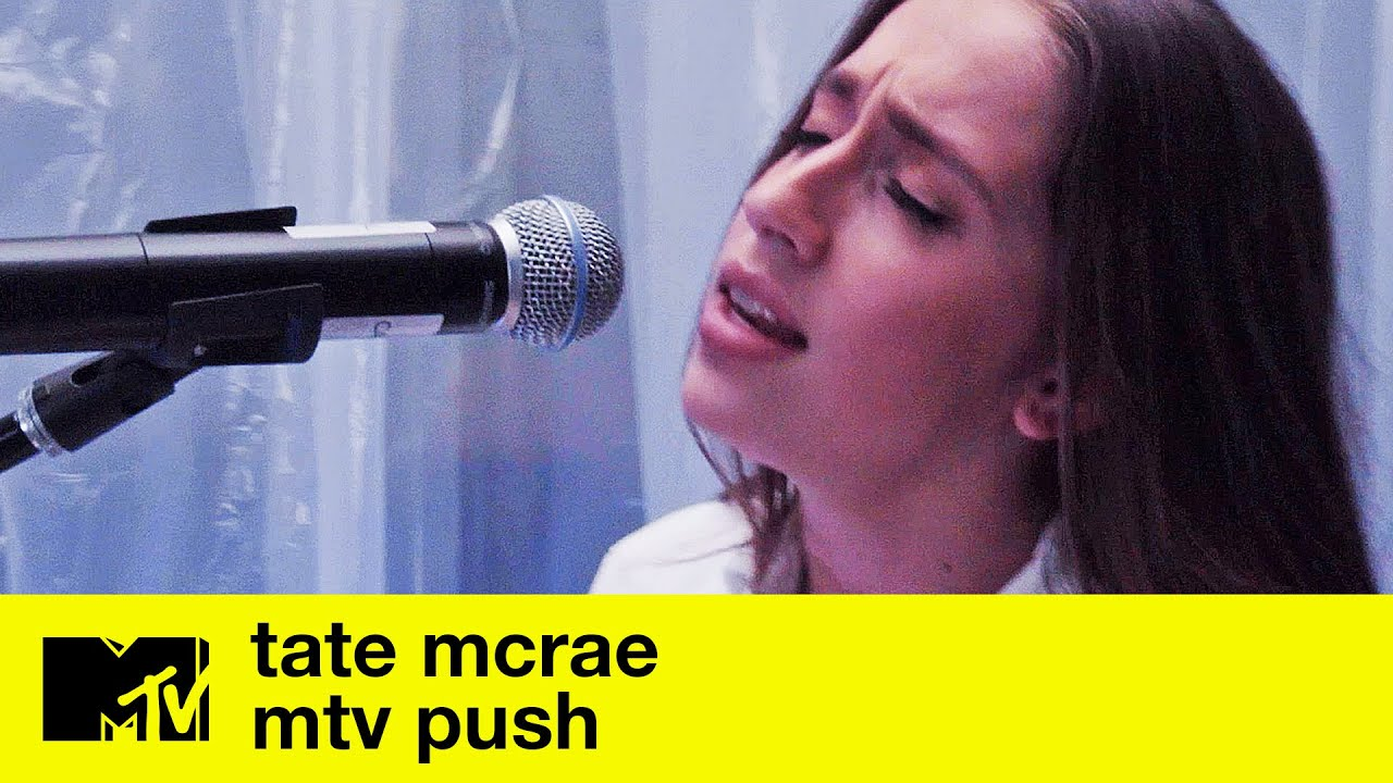 Tate McRae - 'vicious' & 'you broke me first' (Performance + Extended Interview) | MTV Push