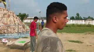 Pre-IPL preparation 2020 Sarfaraz khan  practicing in farm at Azamgarh  kingsXIpunjab