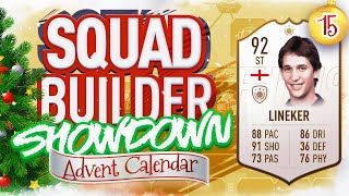 THE SQUAD BUILDER SHOWDOWN ADVENT CALENDAR!!! PRIME GARY LINEKER VS ROB!!! Day 15