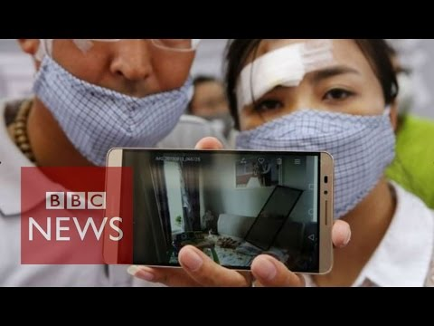 Tianjin blasts victims: 'China should buy damaged homes' - BBC News