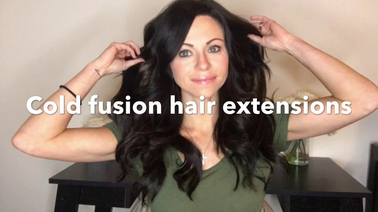 Cold Fusion Great Lengths Human Hair Extension Review Youtube