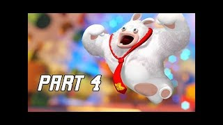 Mario + Rabbids Kingdom Battle Walkthrough Part 4 - RABBID KONG BOSS (Switch Let's Play)