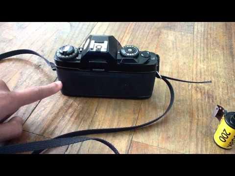 Pellicule appareil photo - changer de pellicule