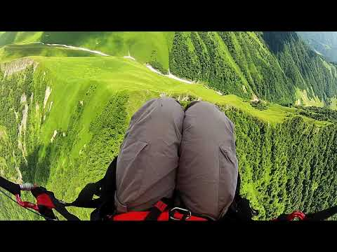 Great paragliding route in Georgia!