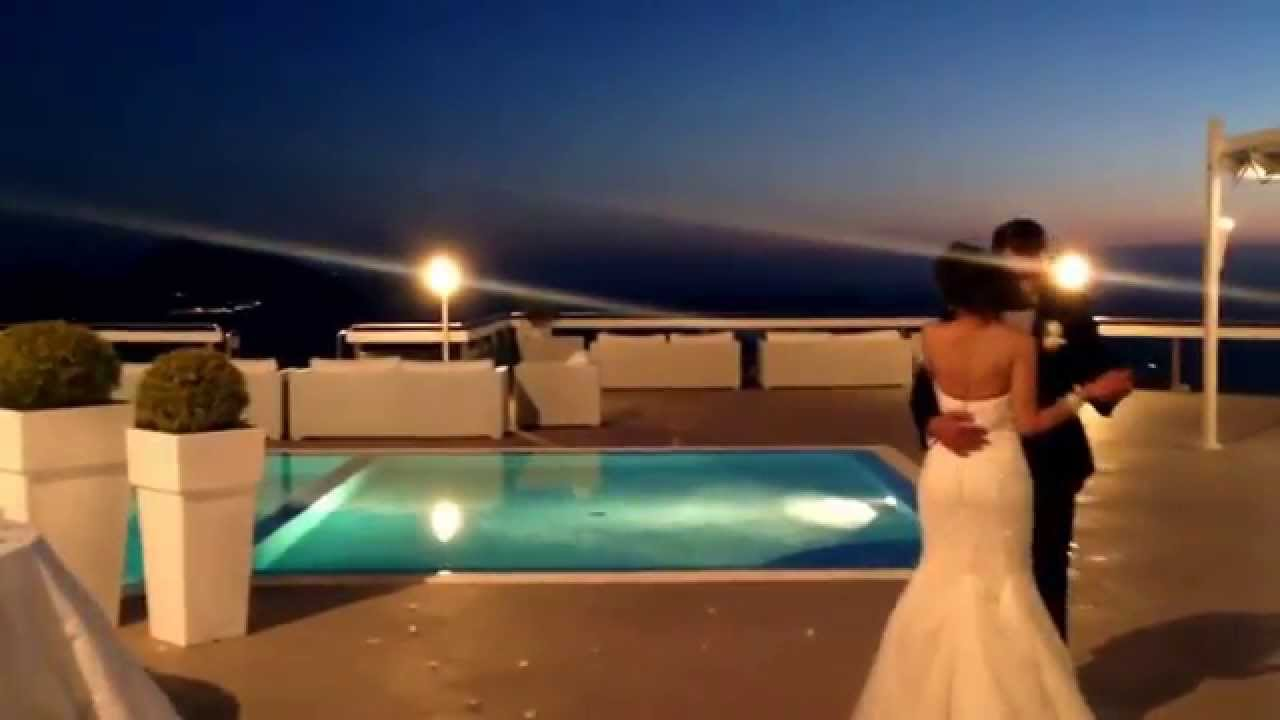First Dance Of Indian Wedding At Villa Eliana In Sorrento