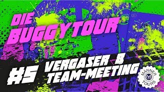 Buggy Tour #5 Vergaser & Team-Meeting
