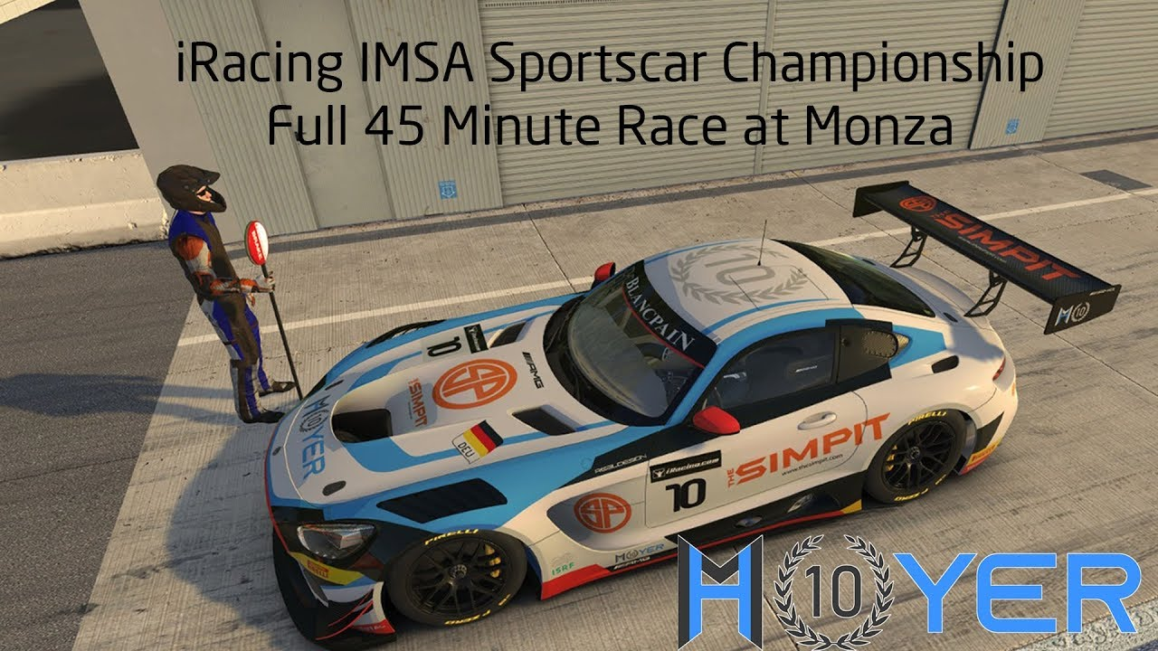 iRacing - IMSA Sportscar Championship at Monza in Mercedes AMG GT3 - Full  Race
