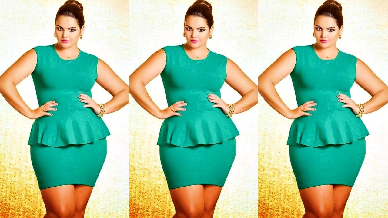 Moda Para Gorditas Vestidos Elegantes Para Gorditas Vestidos Plus Size