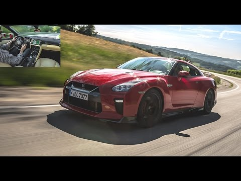 2017 Nissan GT R ESSAI VIDEO cru mill sim acceleration sound GTR
