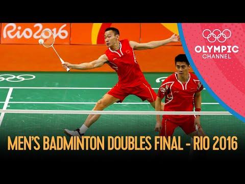 Men's Badminton Doubles Gold Medal Match 🇨🇳🆚🇲🇾 | Rio 2016 Replays