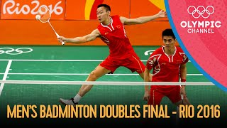 Men's Badminton Doubles Gold Medal Match 🇨🇳🆚🇲🇾 | Rio 2016 Replays
