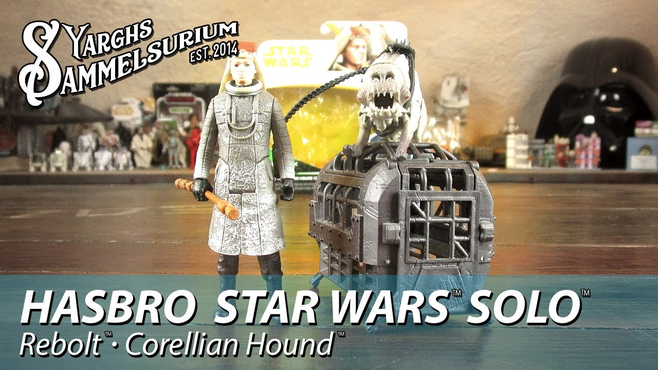 rebolt et Corellian Hound Hasbro Star Wars force Link 2.0 Ltd Edition Set