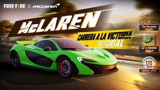 ¡Nueva Interfaz de McLaren! - Tutorial: Carrera a la Victoria🏁| Garena Free Fire