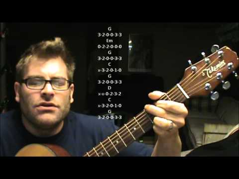 How To Play Cupid By Sam Cooke On Acoustic Guitar Made Easy