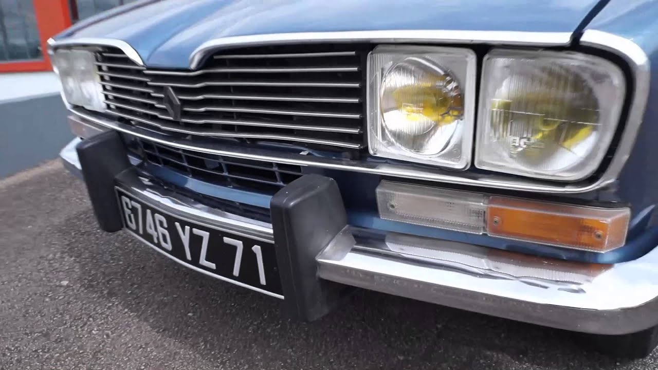 Renault 16 tx youtube for Interieur 928