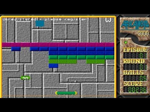 Arkanoid 2000 V1.6 (Windows Game 2000)