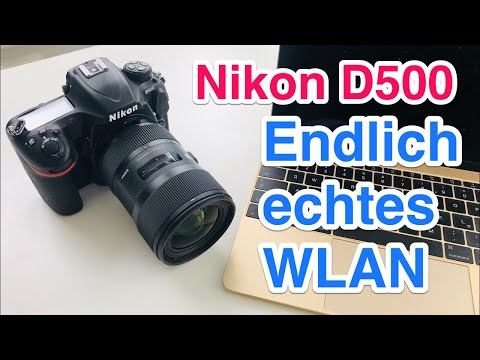 Repeat Connect Nikon D500 directly to PC or Smartphone via