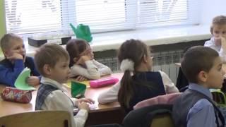 Видео урока (фрагмент) по проектной деятельности в 1 классе по теме