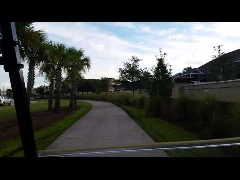 Golf Cart Ride Through Viera Florida Part I