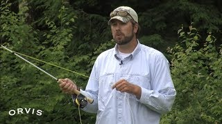 ORVIS - Fly Casting Lessons - The Curve Cast