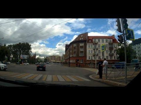 """Калининград -  Кёнигсберг автопробег  """"Северная гора"""" - Южный Вокзал Kaliningrad - Königsberg Rally"""