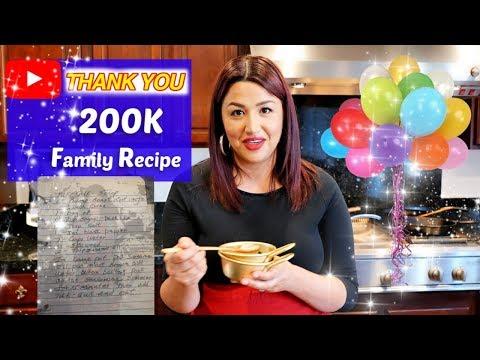 200k!!!-family-secret-recipe:-thank-you-views-club