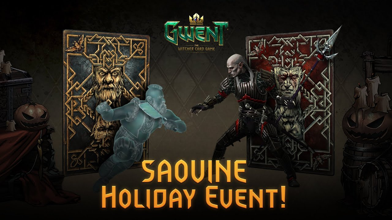 The epic GWENT Saovine Holiday Event has begun!