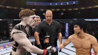 Terrible Creature vs. Bruce Lee (EA Sports UFC 2)