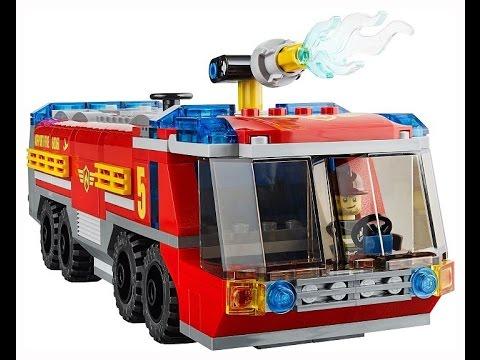 Lego L'aéroportJouet City Camion Pour Le Pompiers De Enfants ZOkuPiXT