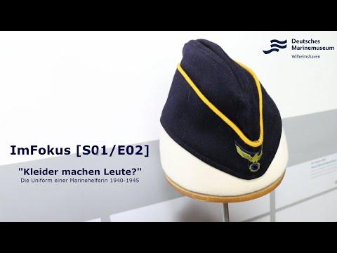 """ImFokus [S01/E02]  """"Kleider machen Leute?"""" Die Uniform einer Marinehelferin 1940-1945"""