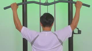 スポーツクラブにあるトレーニングマシンの使い方を、1分間の動画でご紹介。 ▽コナミスポーツクラブ https://www.konami.com/sportsclub/ ※動画と同様のマシンが無い ...