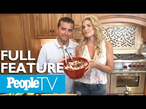 Buddy Valastro & Wife Lisa Cook Eggplant Parm & Bananas Foster, Tour Their Home & Kitchen | PeopleTV