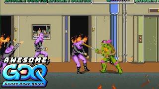 Teenage Mutant Ninja Turtles (arcade) by LRock617 in 17:46 - AGDQ2020