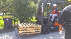 Renew your Forklift Operator's License at Florida Training Academy in Jacksonville Florida.