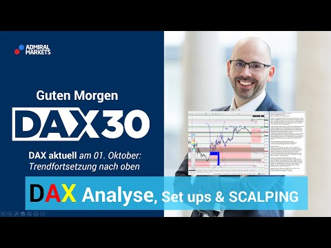 DAX aktuell: Analyse, Trading-Ideen & Scalping | DAX 30 | CFD Trading | DAX Analyse | 01.10.19