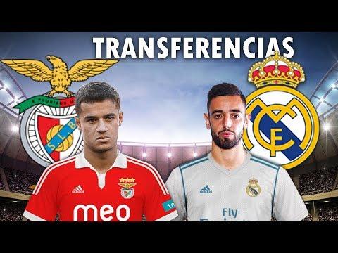 BRUNO FERNANDES NO REAL MADRID E COUTINHO NO BENFICA ?? Transferencias 2019